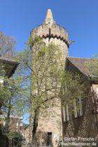 Odenwald: Roter Turm in Weinheim - Foto: Stefan Frerichs / RheinWanderer.de