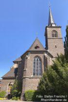 Ahr: Sankt-Johannes-Nepomuk-Kirche von Kripp - Foto: Stefan Frerichs / RheinWanderer.de