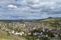Ahr: Blick auf Ahrweiler - Foto: Stefan Frerichs / RheinWanderer.de