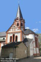 Ahr: Sankt-Mauritius-Kirche in Heimersheim - Foto: Stefan Frerichs / RheinWanderer.de