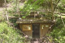 Odenwald: Eingang zum ehemaligen Bergwerk Marie in der Kohlbach - Foto: Stefan Frerichs / RheinWanderer.de