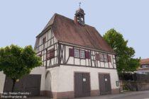 Odenwald: Altes Rathaus von Großsachsen - Foto: Stefan Frerichs / RheinWanderer.de