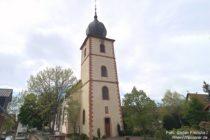 Odenwald: Evangelische Kirche von Großsachsen - Foto: Stefan Frerichs / RheinWanderer.de
