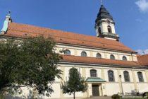 Odenwald: Sankt-Pankratius-Kirche in Dossenheim - Foto: Stefan Frerichs / RheinWanderer.de