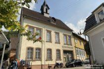 Odenwald: Altes Rathaus von Dossenheim - Foto: Stefan Frerichs / RheinWanderer.de