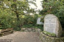 Odenwald: Liederkranzdenkmal oberhalb von Schriesheim - Foto: Stefan Frerichs / RheinWanderer.de