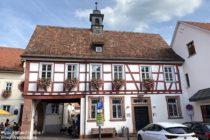 Odenwald: Altes Rathaus in Schriesheim - Foto: Stefan Frerichs / RheinWanderer.de